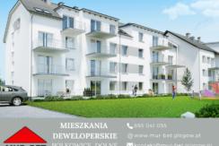 WOLNE MIESZKANIA – budynek wielorodzinny z windą ul. Słubicka w Polkowicach
